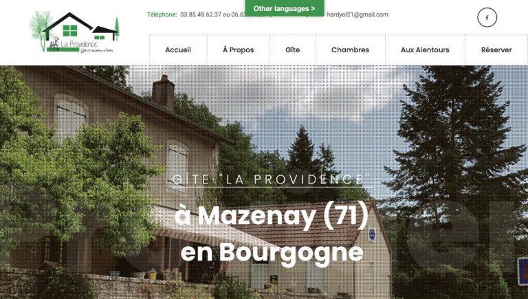 """Gîte """"La Providence"""""""