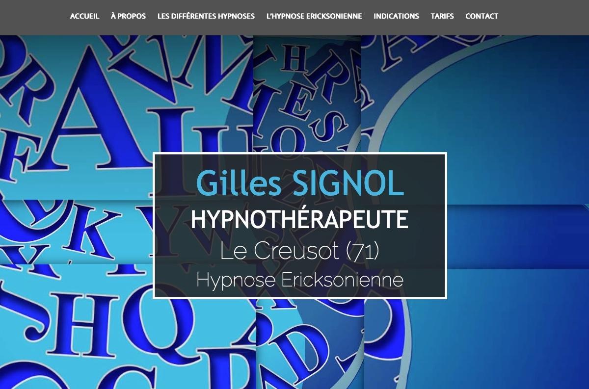 Gilles Signol Hypnothérapeute